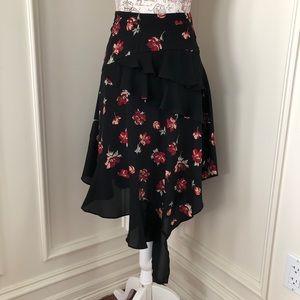 NWT Miss Selfridge flowy skirt